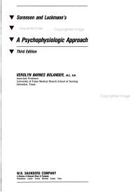 Sorensen and Luckmann s Basic Nursing PDF