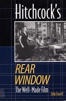 Hitchcock s Rear Window PDF