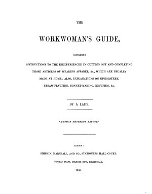 The Workwoman s Guide
