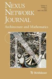 Nexus Network Journal 14,1: Architecture and Mathematics