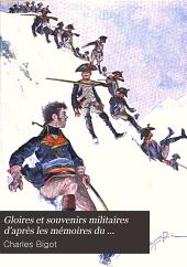 Gloires et souvenirs militaires d'après les mémoires du Canonnier Bricard