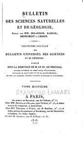 Bulletin des sciences naturelles et de géologie: Volume8
