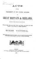 Acts of the Parliament of the United Kingdom of Great Britain and Ireland    PDF