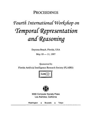 Fourth International Workshop on Temporal Representation and Reasoning, Daytona Beach, Florida, USA, May 10-11, 1997