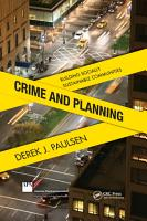 Crime and Planning PDF