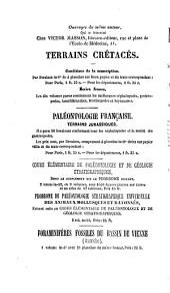 Paléontologie Francaise. Description zoologique et géologique de tous les animaux mollusques et rayonnés fossiles de France: Terrains crétacés, Volume6