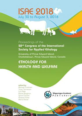 Proceedings of the 52nd Congress of the International Society for Applied Ethology