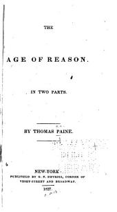 The Age of Reason: In Two Parts