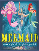 Mermaid Coloring Book for Girls Ages 4-8