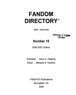 Fandom Directory