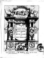 Aanwysing der heilsame politike gronden en maximen van de Republike van Holland en West Vriesland PDF