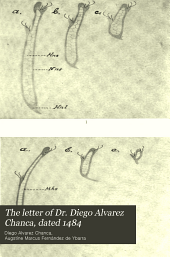 The letter of Dr. Diego Alvarez Chanca, dated 1484: Volume 48