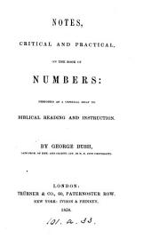 Notes, critical and practical, on the book of Numbers