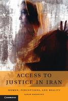 Access to Justice in Iran PDF