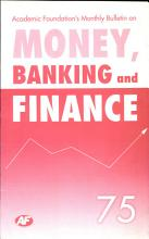Academic Foundation S Bulletin On Money  Banking And Finance Volume  75 Analysis  Reports  Policy Documents PDF