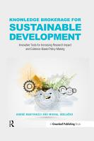 Knowledge Brokerage for Sustainable Development PDF