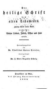 Die Bücher Tobias, Judith, Esther und Hiob