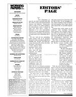 Working Papers Magazine PDF