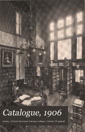 Catalogue, 1906