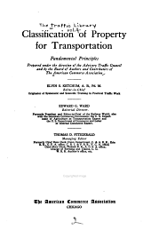 Classification of property for transportation
