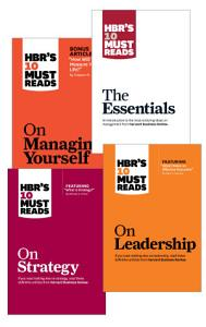HBR s 10 Must Reads Collection  12 Books  Book