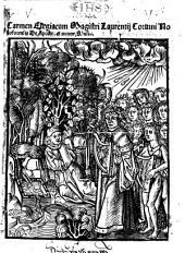 Latinum ydeoma ... Laurentij Coruini ... ab innumeris fere me(n)dis quibus antehac scatebat: penitus exemptum (etc.)