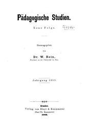 Pädagogische Studien: Band 10