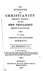 The evidences of Christianity briefly stated
