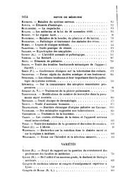 Revue de médecine: Volume14