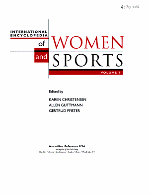 Encyclopedia Of Women And Sports