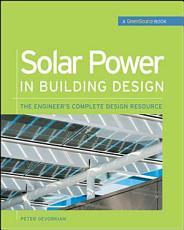 Solar Power in Building Design  GreenSource  PDF