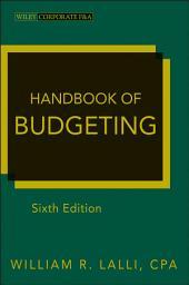 Handbook of Budgeting: Edition 6