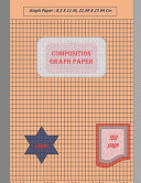 Graph Paper Notebook 8. 5 X 11 In, 150 Sheets