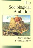The Sociological Ambition PDF