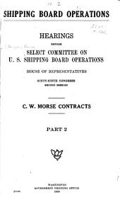 Shipping Board Operations: Volumes 2-4