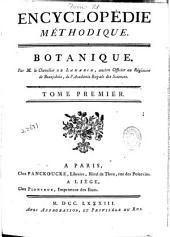 Encyclopédie méthodique: Botanique, Volume1