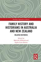 Family History and Historians in Australia and New Zealand PDF