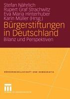 B  rgerstiftungen in Deutschland PDF