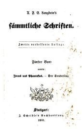Sämmtliche Schriften: Vollständige, vom Verfasser selbst besorgte, verb. Und verm. Original-Ausg. Letzter Hand, Band 31