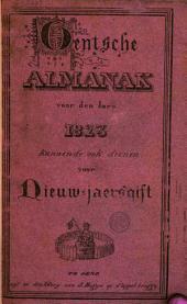 Gentsche almanak voor den jare 1823 kunnende ook dienen voor Nieuw-jaersgift