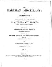 The Harleian Miscellany: A Collection of Scarce, Curious and Entertaining Pamphlets and Tracts ... Selected from the Library of Edward Harley, Volume 5