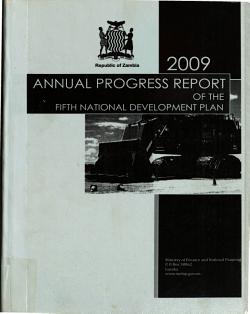 Annual Progress Report of the Fifth National Development Plan PDF