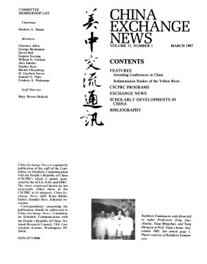 China Exchange News PDF