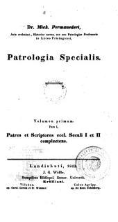 Bibliotheca patristica: Patres et scriptores eccl. seculi I et II complectens. 2,1,1