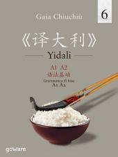 Yidali 6. Grammatica di base A1-A2 – 《译大利 6》A1-A2 语法基础