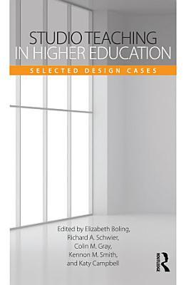 Studio Teaching in Higher Education PDF