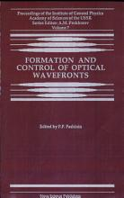 Formation and Control of Optical Wavefronts PDF