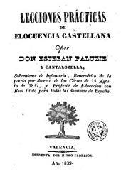 Lecciones prácticas de elocuencia castellana