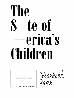 The State of America s Children PDF