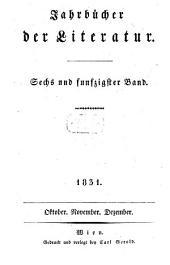 Jahrbücher der Literatur: Band 56